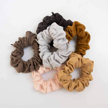 Load image into Gallery viewer, Kooshoo Organic Scrunchies - Black Olive