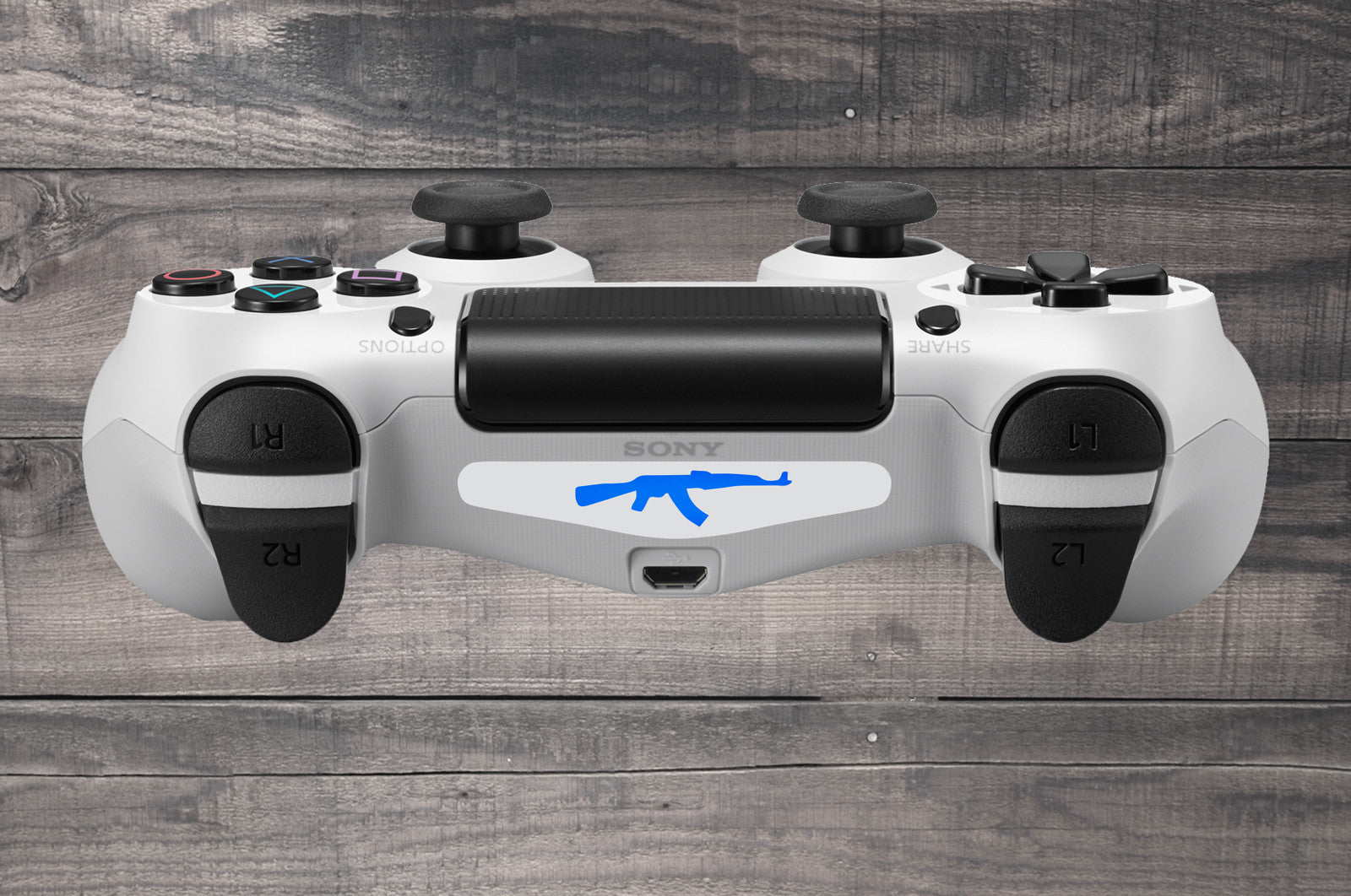Retro batman playstation 4 ps4 dual shock controller light bar ak47 ps4 dual shock controller light bar decal white aloadofball Choice Image