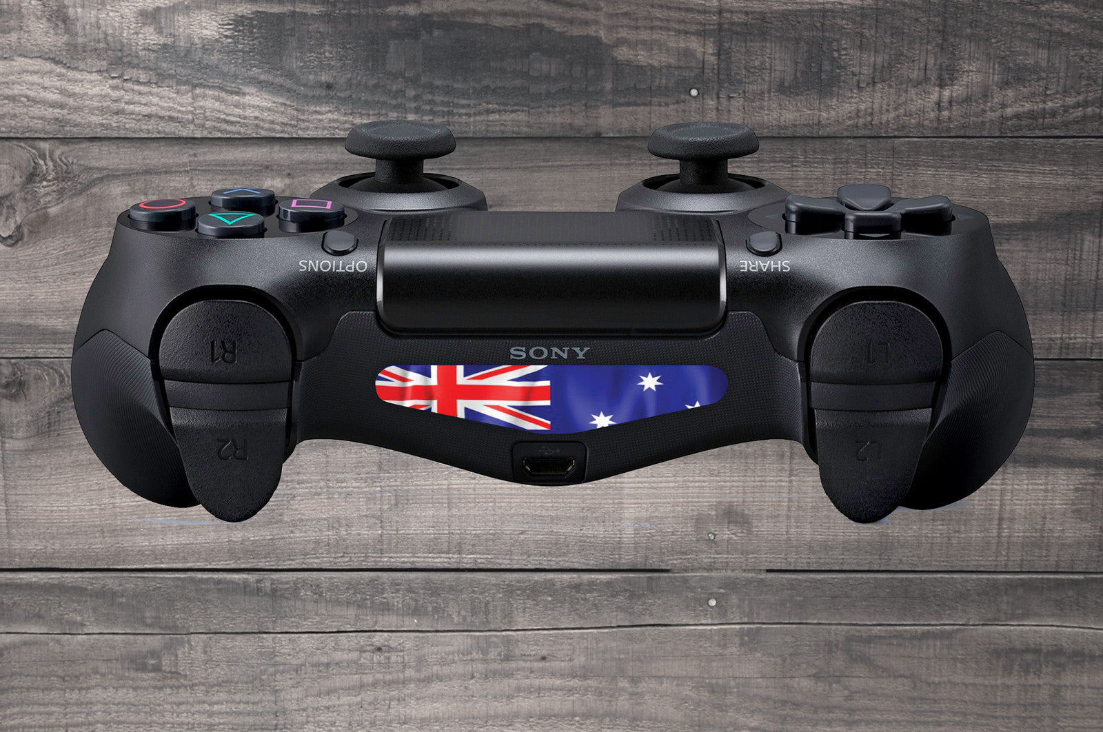 Australian flag ps4 controller light bar decal vinyl infusion australian flag playstation 4 ps4 dual shock controller light bar decal aloadofball Image collections