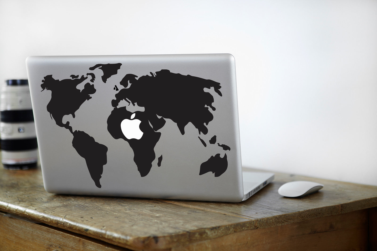 World map macbook decal vinyl infusion vinyl infusion world map macbook decal gumiabroncs Choice Image