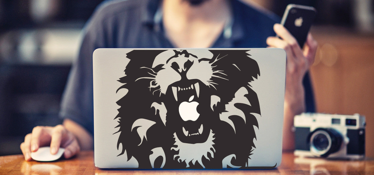 Lion Macbook Decal