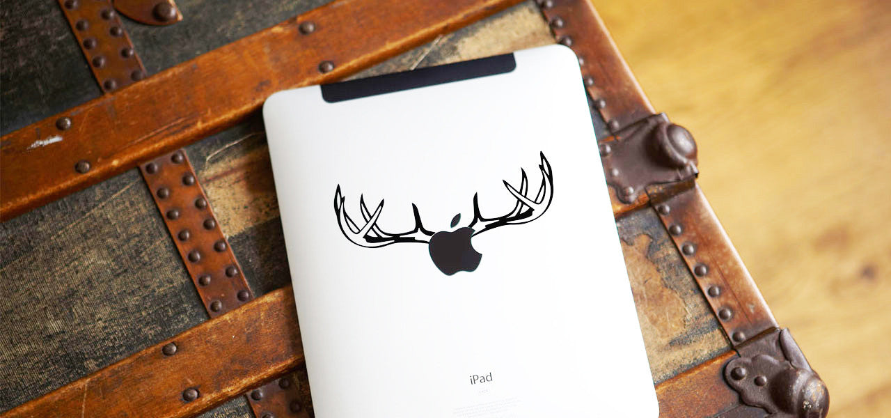 Antlers iPad Decal