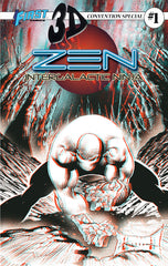 ZEN INTERGALACTIC NINJA 3D Convention Special #1 (with 3D glasses!)