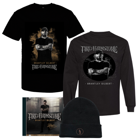 Signed Fire & Brimstone Deluxe Apparel Bundle