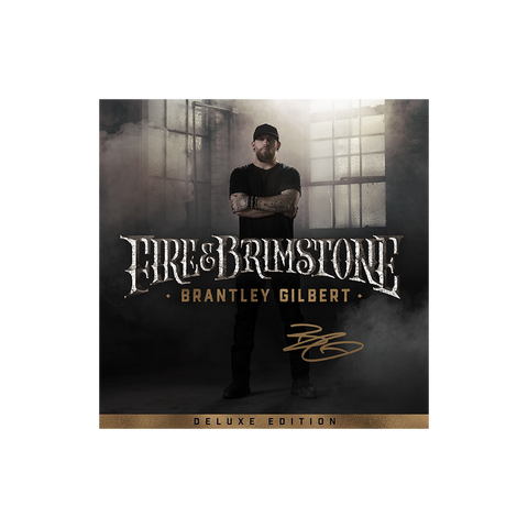 Signed Fire & Brimstone Deluxe CD