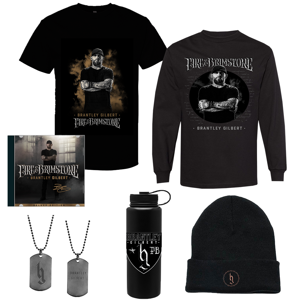 Signed Fire & Brimstone Deluxe Everything Bundle