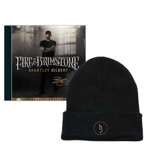 Signed Fire & Brimstone Deluxe CD + Beanie