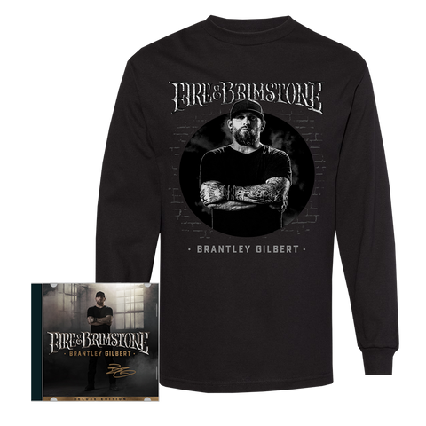 Signed Fire & Brimstone Deluxe CD + Longsleeve