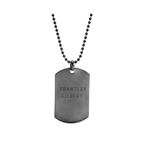 Brantley Gilbert Dog Tag