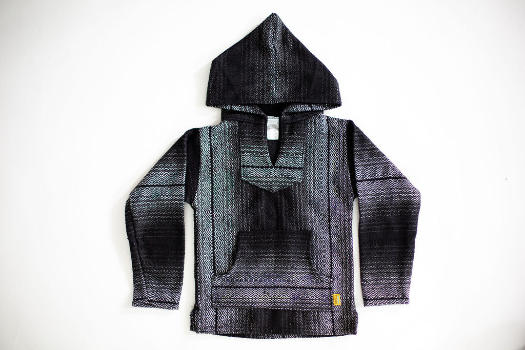 Little Poncho Hoodies- Brown