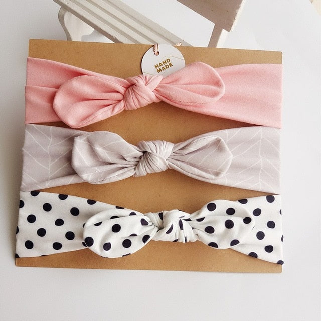 3Pcs littlebear head bands