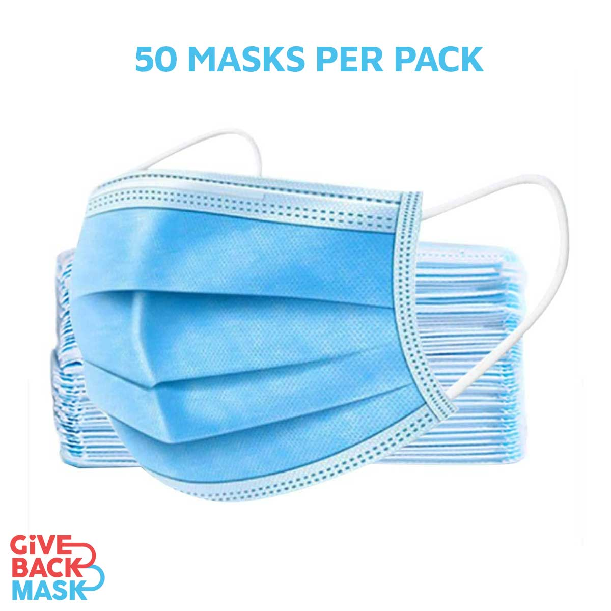 Give Back Masks - 50 per Pack
