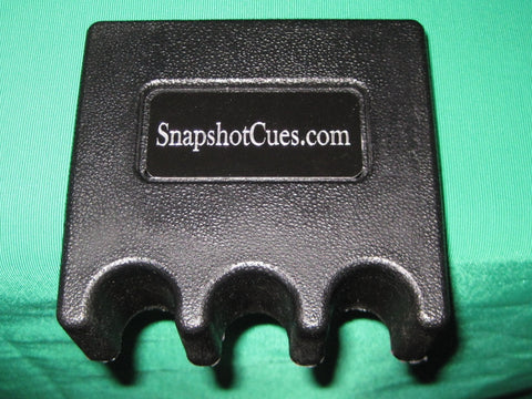 Snapshot® Portable Cue Stick Holder - 3 Cues