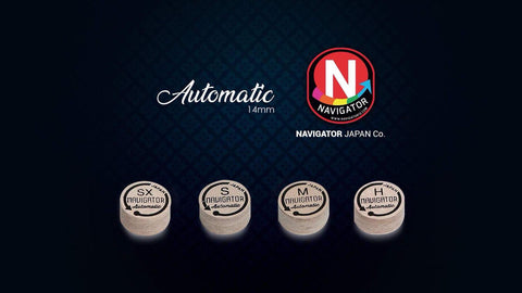 NEW FROM NAVIGATOR JAPAN!  NAVIGATOR AUTOMATIC PREMIUM JAPANESE CUE TIP
