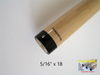 "NEW!  SNAPSHOT® 5/16"" x 18 Pro Taper Maple Cue Stick Shaft"