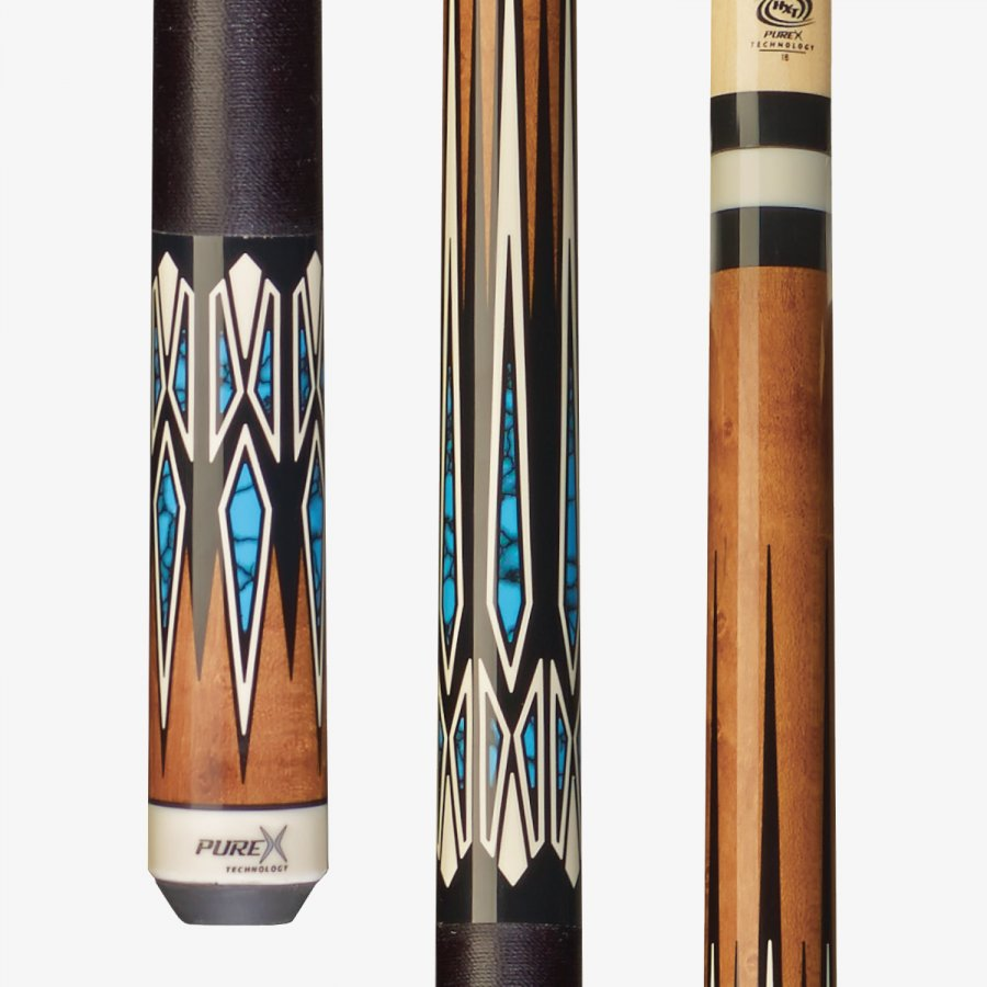 PUREX HXT61 TECHNOLOGLY LOW DEFLECTION POOL CUE 20 oz
