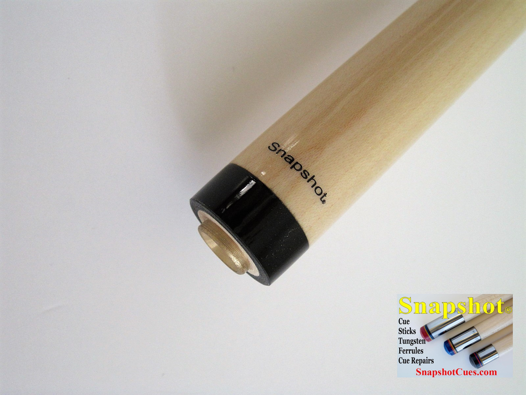 "NEW!  SNAPSHOT® 5/16"" x 14 Pro Taper Maple Cue Stick Shaft"