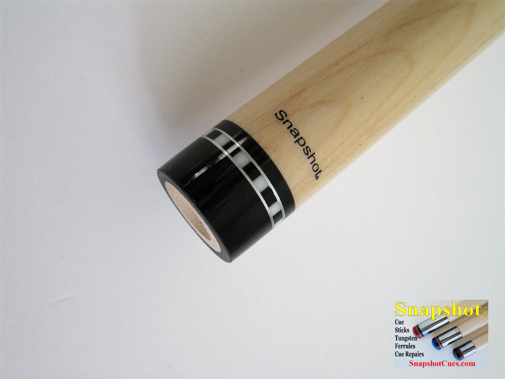 NEW!  SNAPSHOT® Radial Joint Pro Taper Maple Cue Stick Shaft