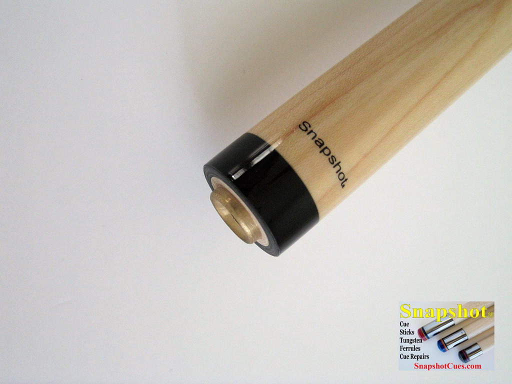NEW!  SNAPSHOT® Uni-Loc Joint Pro Taper Maple Cue Stick Shaft