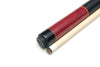 NEW! DELTA MB-5 6 POINT PURPLE HEART CUE W/MATCHING JOINT PROTECTORS 18 oz