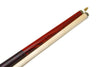 NEW! DELTA NS-1 RENGAS WOOD 2 PIECE CUE W/MATCHING JOINT PROTECTORS 20 oz