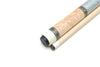 NEW! DELTA NS-3 BIRDSEYE WOOD 2 PIECE CUE W/MATCHING JOINT PROTECTORS 21 oz