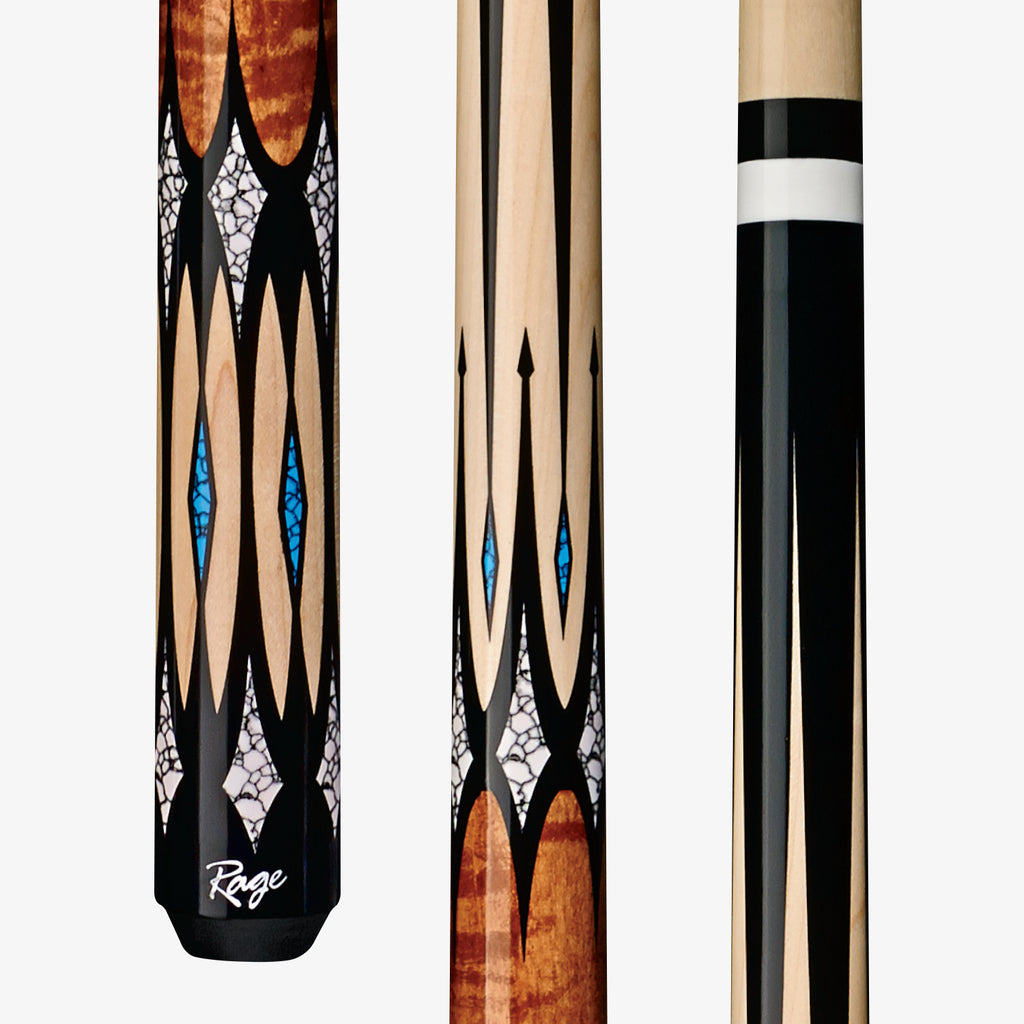 NEW RAGE RG203 CUE STICK 21 oz