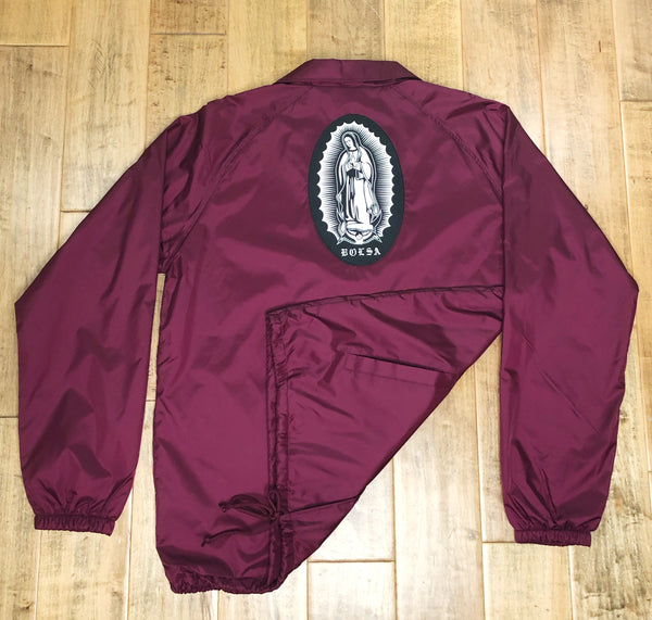 Lady of Guadalupe Windbreaker Jacket