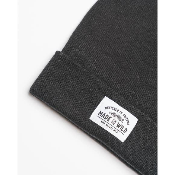 Made for the Wild Beanie | Black