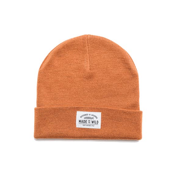 Made for the Wild Beanie | Autumn Orange