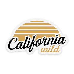 California Wild | Sticker
