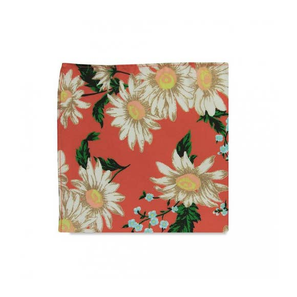The Carina Floral Pocket Square