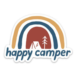 Happy Camper | Sticker