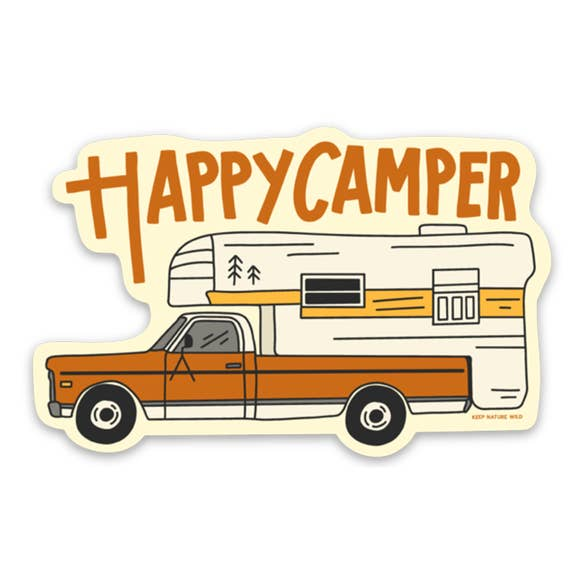 Grampy Camper | Sticker