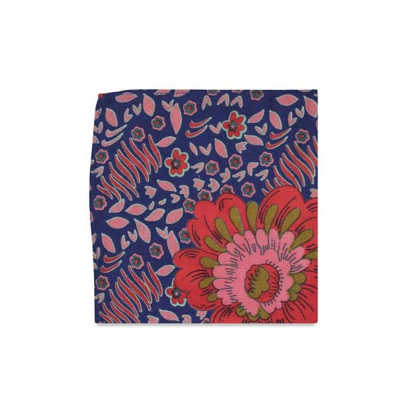 The Marianna Floral Pocket Square