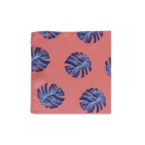 The Moani Pink Pocket Square