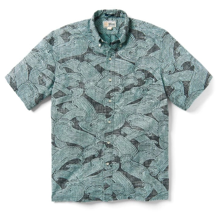 Pacific Current Button Down