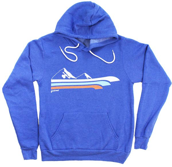 Retro Mountain Hoodie - Royal