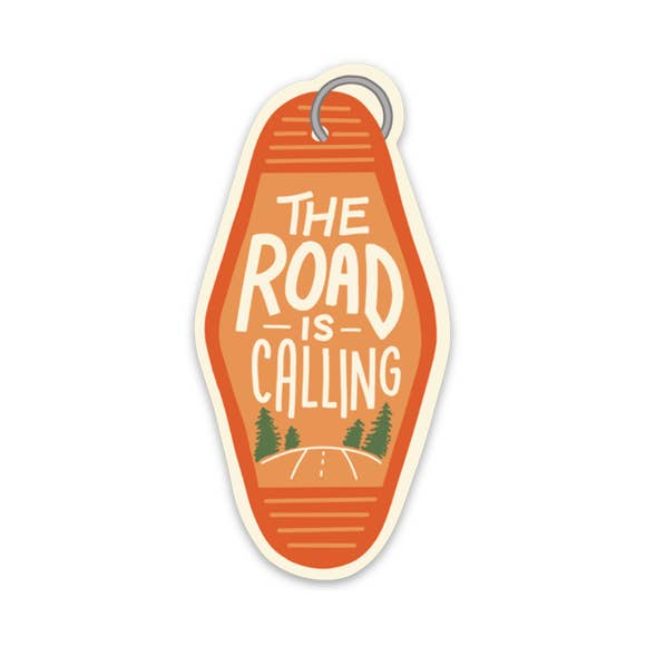 The Road Is Calling | Sticker