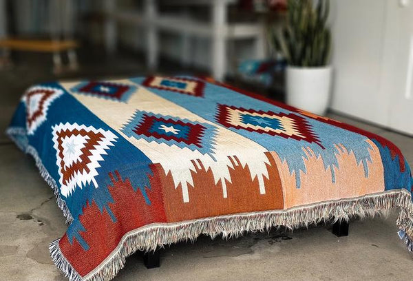 Inca Blanket - Sunset
