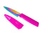 Serrated Paring Knife Colori® 4""