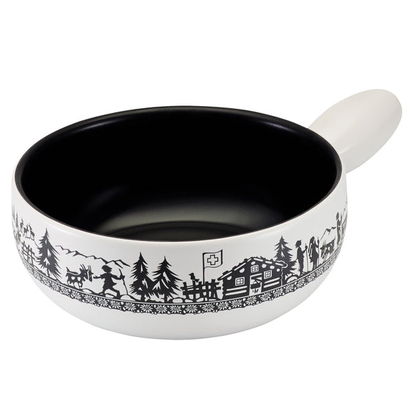 Alpine Meadow Induction Fondue Pot