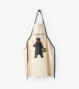Tablier Adulte Bear Naked Chef par Petite Maison Bleue