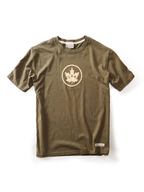 T-shirt Canada Olive - par Red Canoe