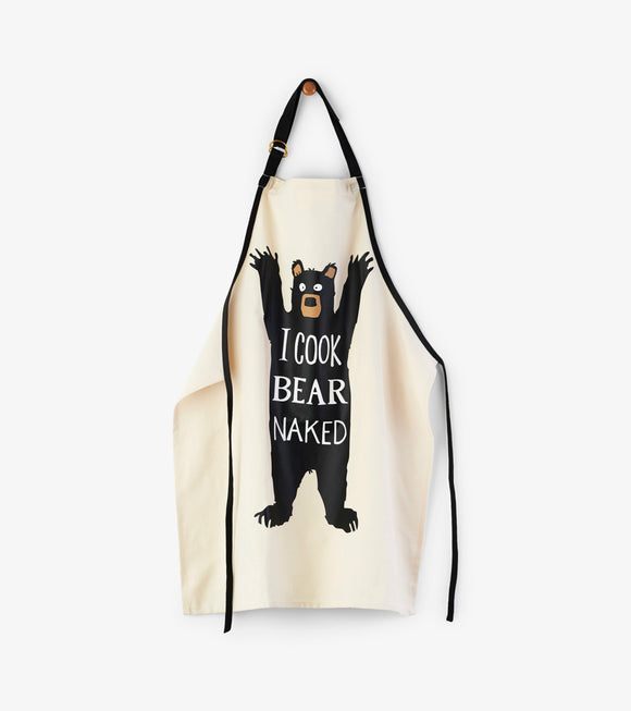 Tablier Adulte Bear Naked par Petite Maison Bleue