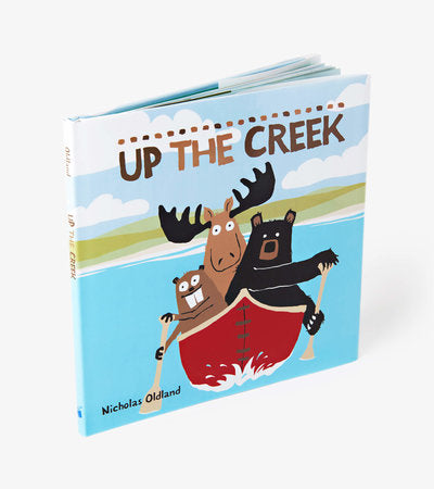 Livre Up the Creek par Petite Maison Bleue