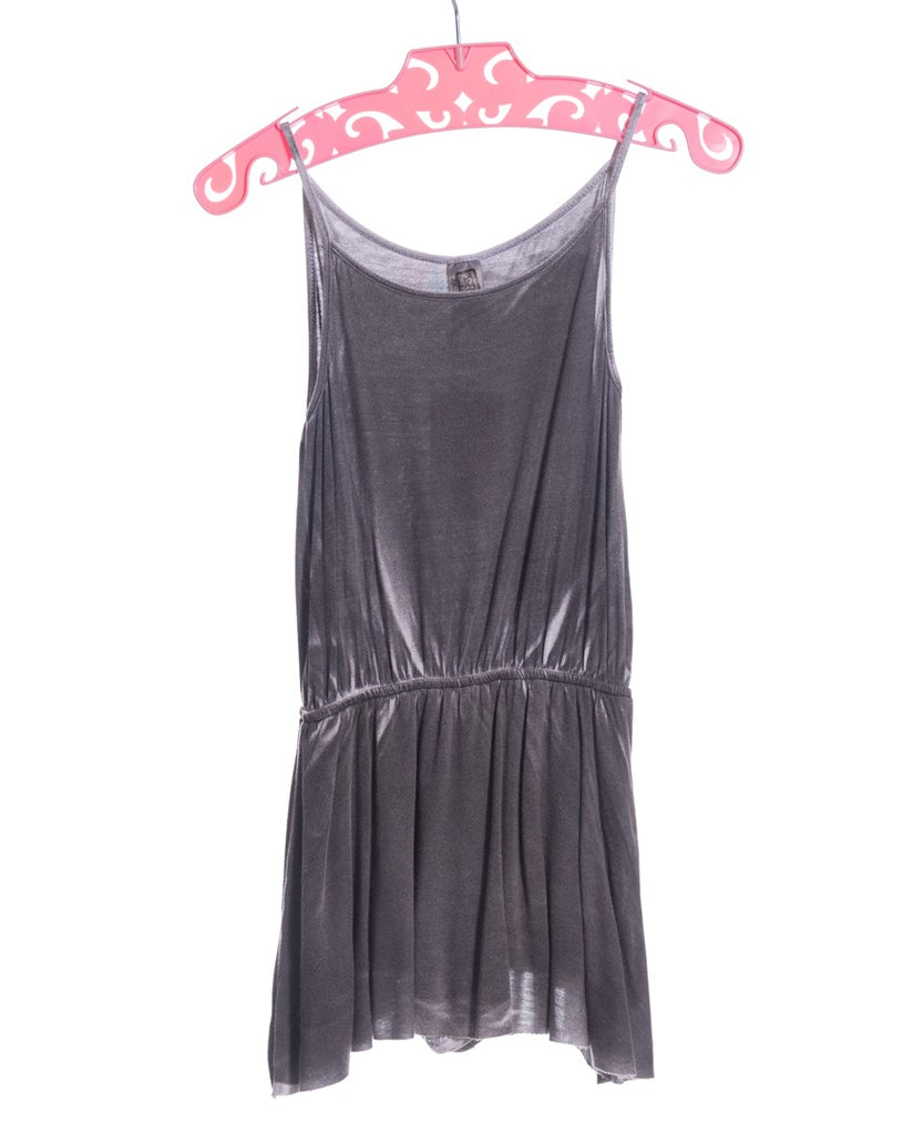 CHARCOAL SPRAY WASH ROMPER