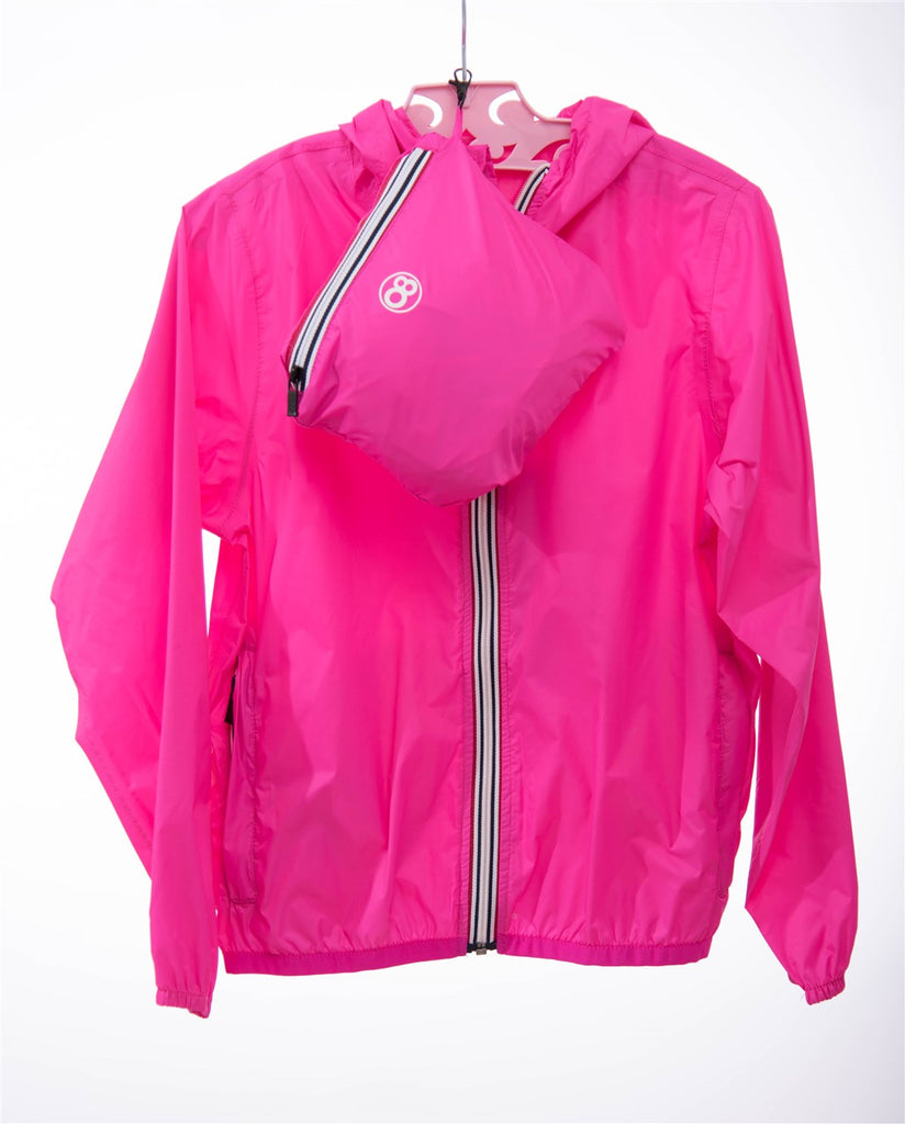 08lifestyle Hot Pink Rain Jacket
