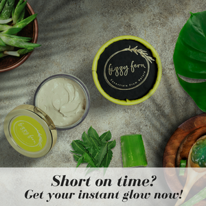 Short on Time – An Instant Glow Face Pack is the Answer