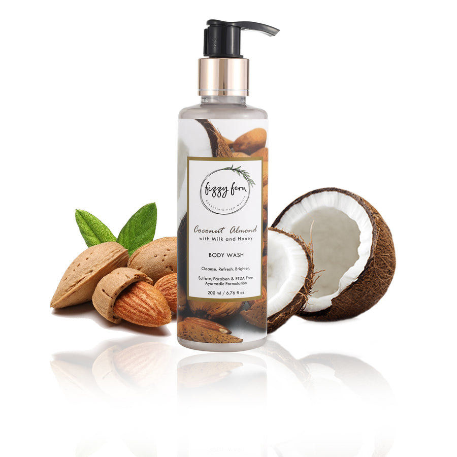 Coconut Almond Body Wash with Milk & Honey